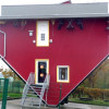 Haus auf dem Kopf in Putbus