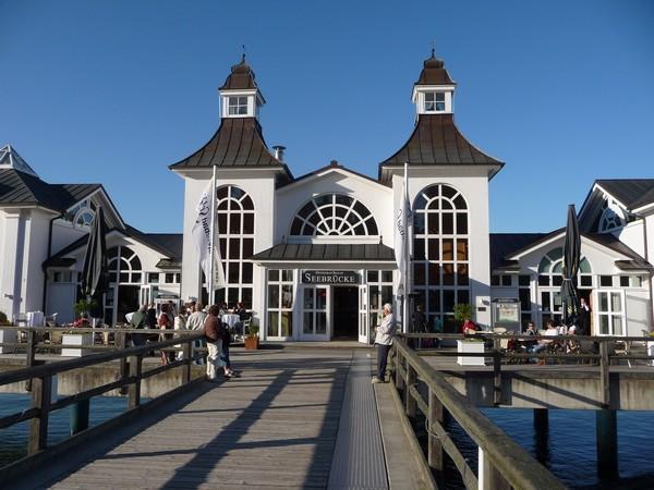 Seebrückenrestaurant in Sellin