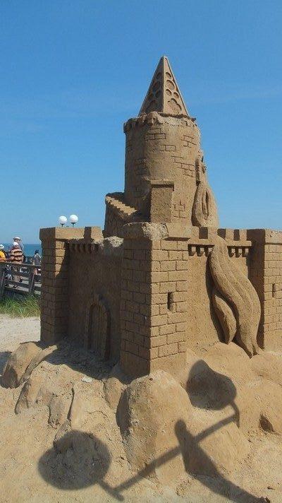 Sandskulputurenfestival: Hier in Binz auf Rügen