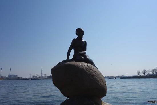 Die kleine Meerjungfrau in Kopenhagen Dänemark