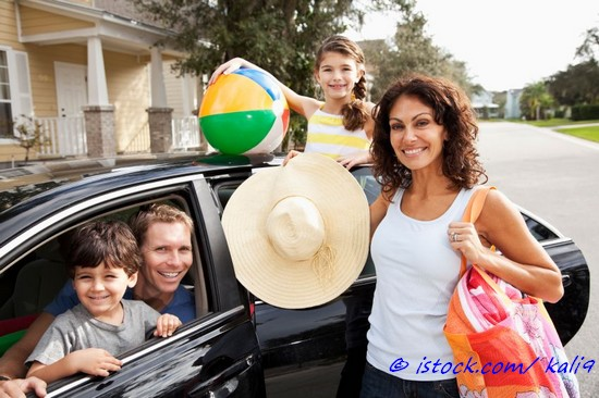 Familienurlaub mit dem PKW