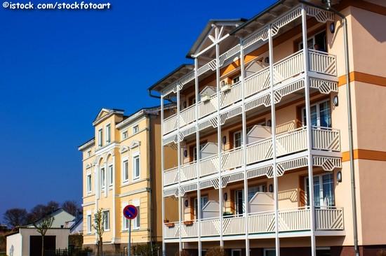 Typische Immobilien der Bäderarchitektur auf Rügen