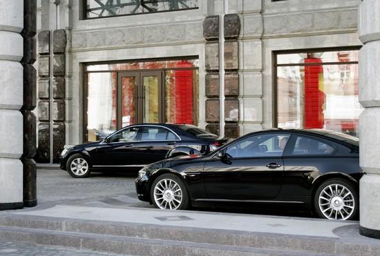 Hochzeit mit Premium Chauffeurservice