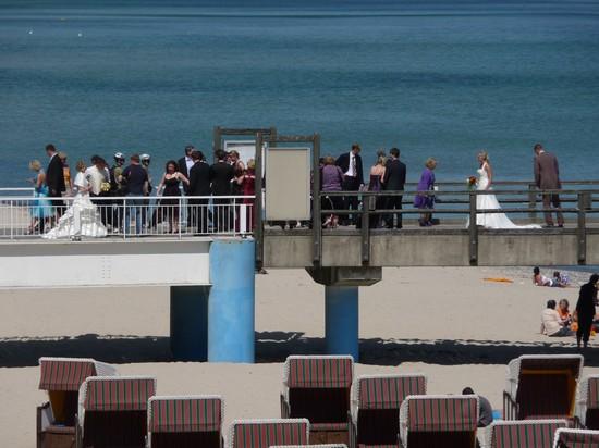Hochzeiten Rügen auf der Seebrücke in Sellin