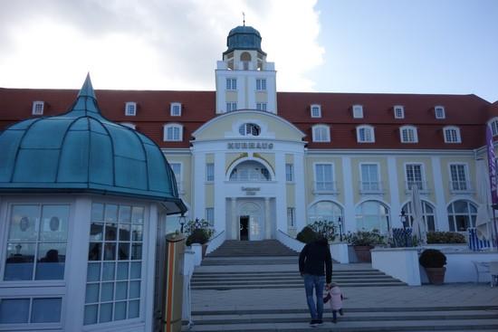 Das bekannte Hotel auf Rügen: Kurhaus in Binz