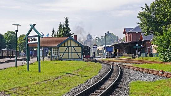 Der Bahnhof Putbus