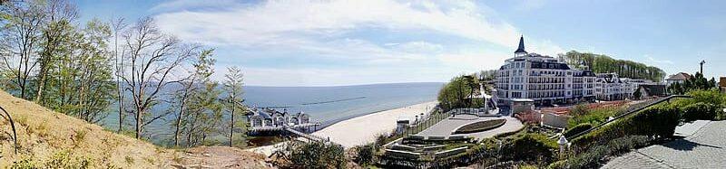 Rügen Urlaub Panorama in Sellin